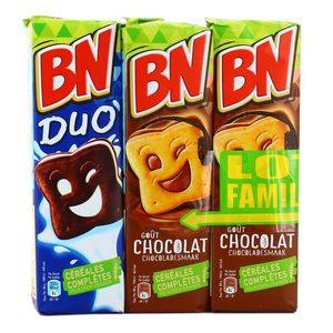BN Goûter chocolat, Lot de 3 x 295g : houra.fr