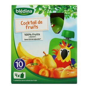 Blédina Gourdes cocktail de fruits dès 10 mois