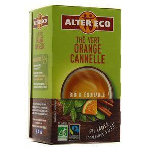 Alter Eco - Commerce Equitable Thé vert orange cannelle bio