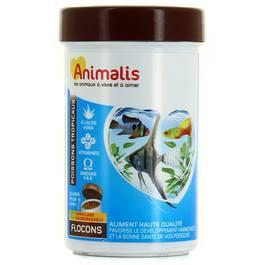 Animalis Aliments flocons pour poissons tropicaux