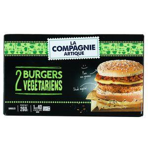 La Compagnie Artique 2 Burgers végétariens 2x130g