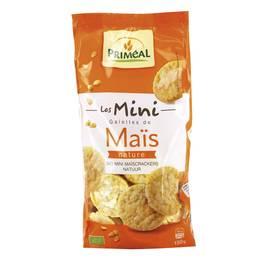 Priméal Mini galette de maïs bio