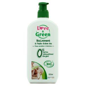Love & Green BioLiniment à l'huile d'olive bio