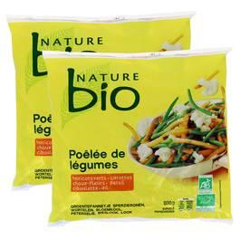 Nature Bio Poêlée de légumes Bio