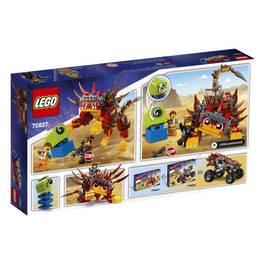 LEGO® Movie 2 70827- Ultrakatty et la guerrière Lucy !