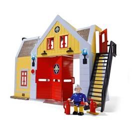 smoby caserne pompier sam le pompier. Black Bedroom Furniture Sets. Home Design Ideas