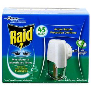 Raid diffuseur lectrique anti moustiques et anti - Raid anti moustique ...