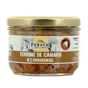 Panache Des Landes Terrine de canard à l'Armagnac