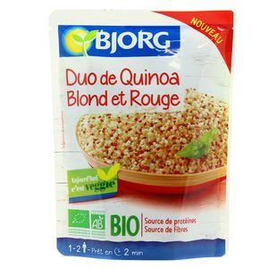 Bjorg Duo de quinoa blond et rouge bio