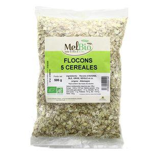 Melbio Flocons 5 Céréales