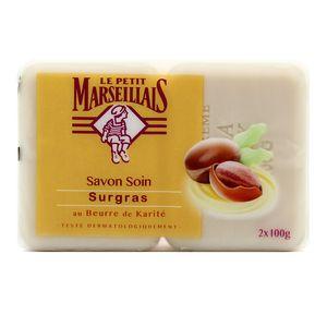 Le petit marseillais savon soin surgras au beurre de karit 2x100g - Le chaudron marseillais savon ...