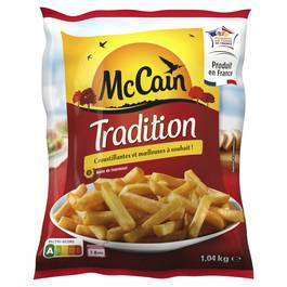 Mc Cain Frites Tradition coupe classique 10x10mm