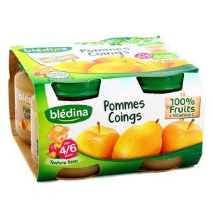 Blédina Pomme coing, dès 4 mois