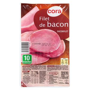 Cora Filet de Bacon 100g