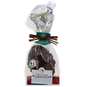 Chevalier D Argouges Oeufs de Pâques au chocolat noir aux éclats de menthe