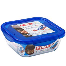 Pyrex Cook & Go Boîte carrée avec couvercle