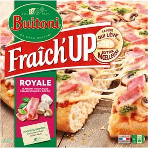Buitoni Fraich up Pizza Royale- Jambon, Fromage, Champignons, Pesto