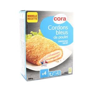 Cora 4 Cordons bleus de poulet 4x100g