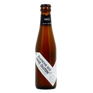 Brasserie De Vezelay Bière Blanche Bio sans gluten 4.4°