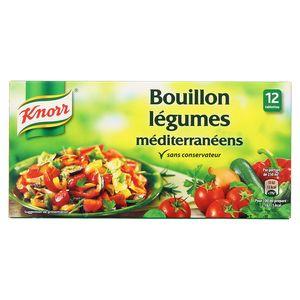 Knorr Bouillon légumes méditerranéens