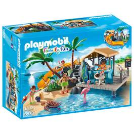PLAYMOBIL® Family Fun Ile avec vacanciers
