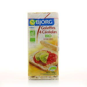 Bjorg Galettes aux 4 céréales bio extra fines