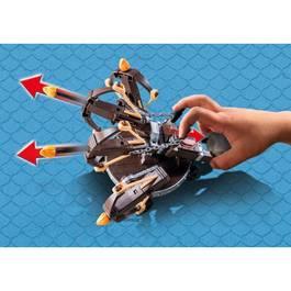 PLAYMOBIL® Dragons Eret et baliste à 4 projectiles de feu