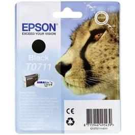 Epson Cartouche d'encre noire Guépard- T0711