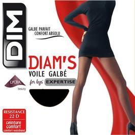Dim Collant Diam's Voile Galbé Noir