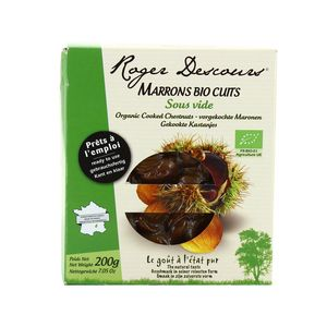Roger Descours Marrons cuits bio
