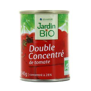 Jardin Bio Double concentré de tomates bio