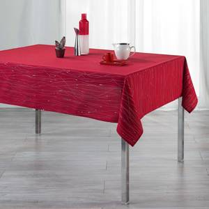 Douceur D Interieur Nappe rectangulaire Filiane Rouge 8/10 couverts
