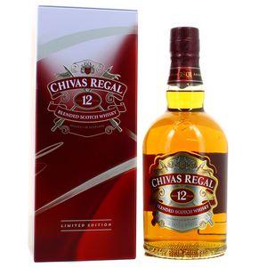 Chivas Regal Blended scotch whisky 12 ans 40° étui festif