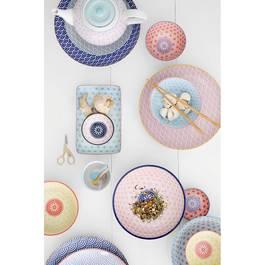 Tokyo Design Studio Coffret de 6 assiettes Star/Wave