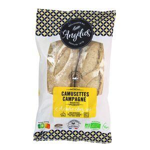 L'Angelus Baguettes camusettes de campagne bio