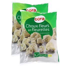 Cora Choux-fleurs en fleurettes