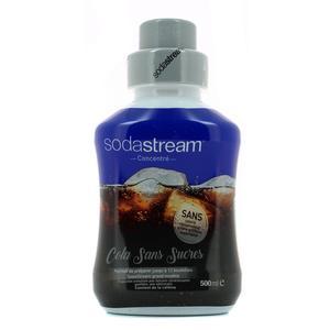 Sodastream Sirop concentré spécial boisson gazeuse - Cola sans sucre