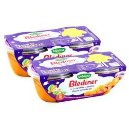 Blédina Blédîner duo de carottes et patates douce semoule lait dès 8 mois