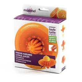 Mastrad Presse agrumes orange