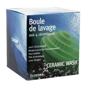 Ceramic Wash Boule de lavage aux 4 céramiques écologique