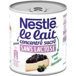 Nestlé Lait concentré sucré sans lactose