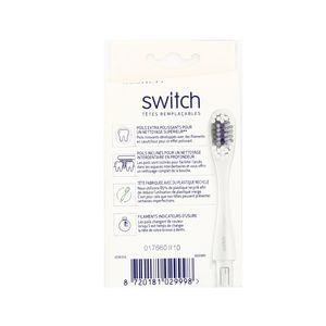 Signal Têtes remplaçable brosse à dents switch souple
