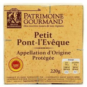 Patrimoine Gourmand Petit-Pont l'Eveque AOC