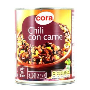 Cora Chili con carné