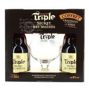 Triple Secret Des Moines Coffret bière Blonde 8°