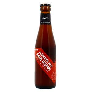 Brasserie De Vezelay Bière Ambrée Bio sans gluten 5.6°