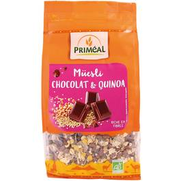 Priméal Muesli Quinoa Chocolat, Bio