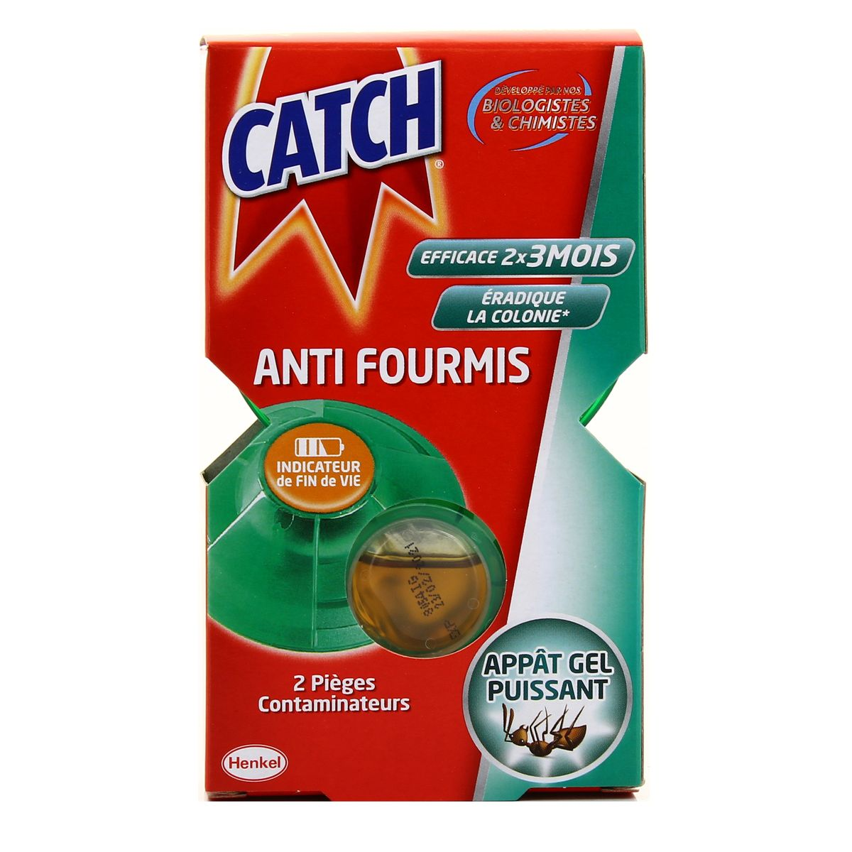 Livraison à domicile Catch Pièges contaminateurs fourmis, 10 pièces