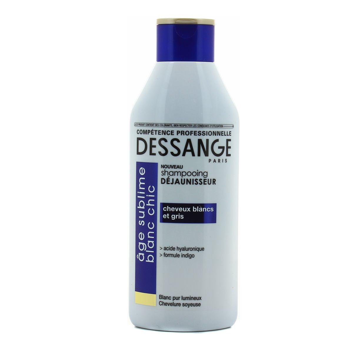 shampoing pour cheveux gris et blanc