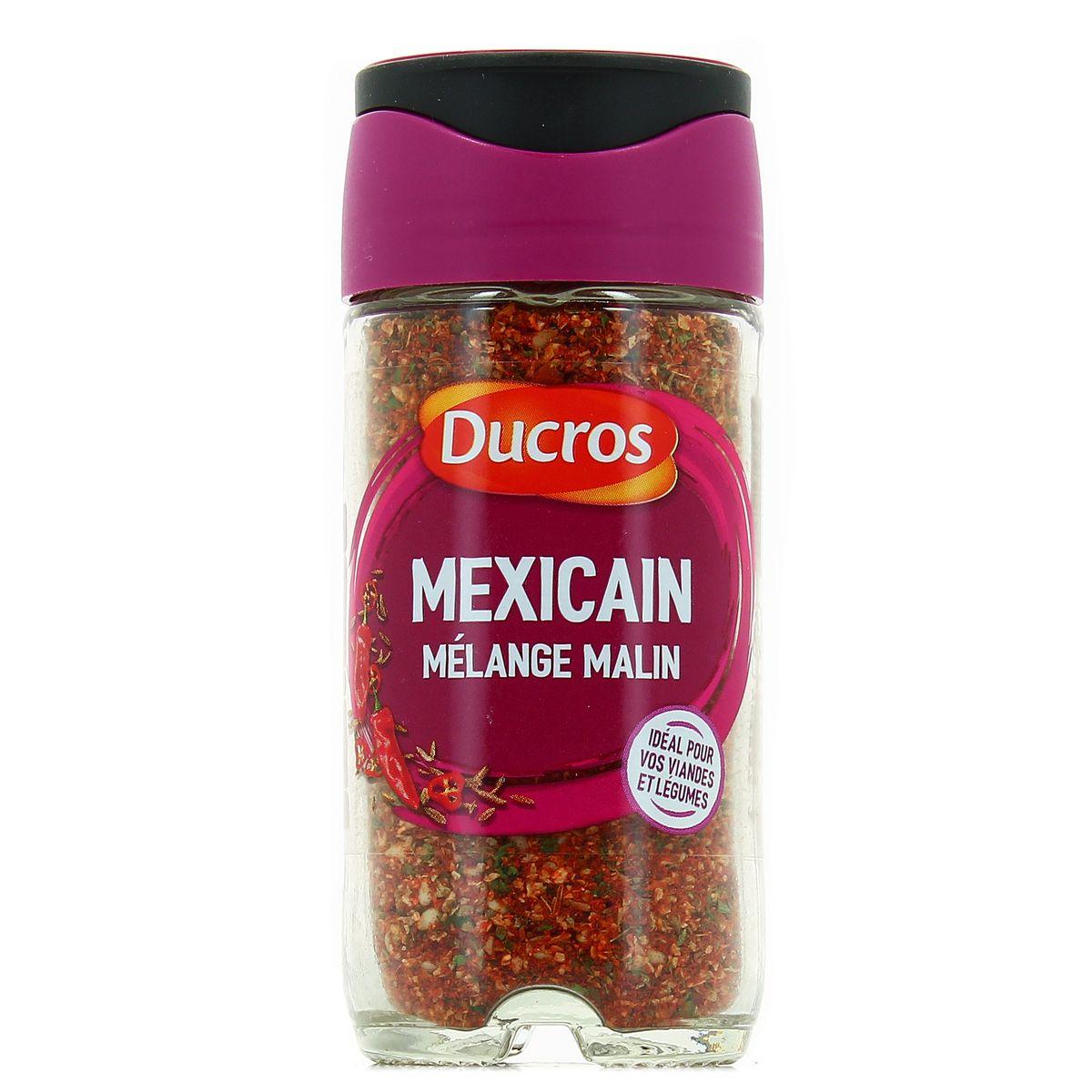 Livraison à domicile Ducros Mélange malin Mexicain, 10g
